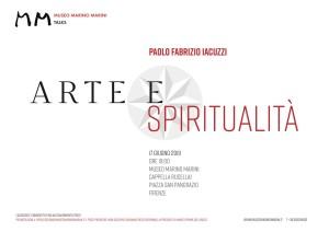 Arte e Spiritualita 17giugno